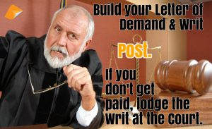 WA Letter of Demand & Writ, WA Demand Letter
