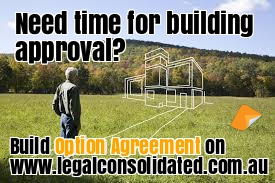 Option Agreement Legal Consolidated