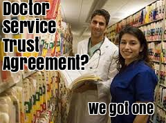 Doctor Service Trust Agreement