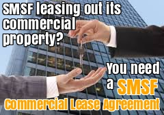 SMSF Commercial Lease Agreement Self Managed superannuation fund lease