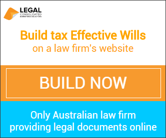 Law firm providing legal documents online