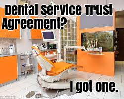 Dentist Service Trust Agreement