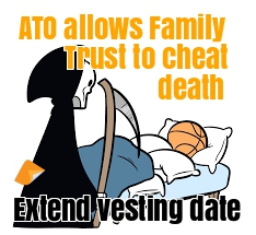 extend vesting date family trust extend vesting is discretionary trust extend vesting date of trust deed stop perpetuity period in Australia