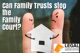 Family trust divorce family court hide assets