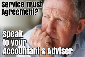 service trust agreement