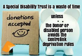 special disability trust sdt Australian law firm