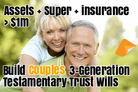Estate planning 1 couples testamentary trust bundle press the blue button to start building malvernweather Images